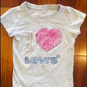 Levi's Shirts & Tops - Levis girl shirt - size 5